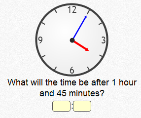 One of the clock challenges